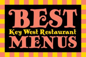Best Key West Restaurant Menus