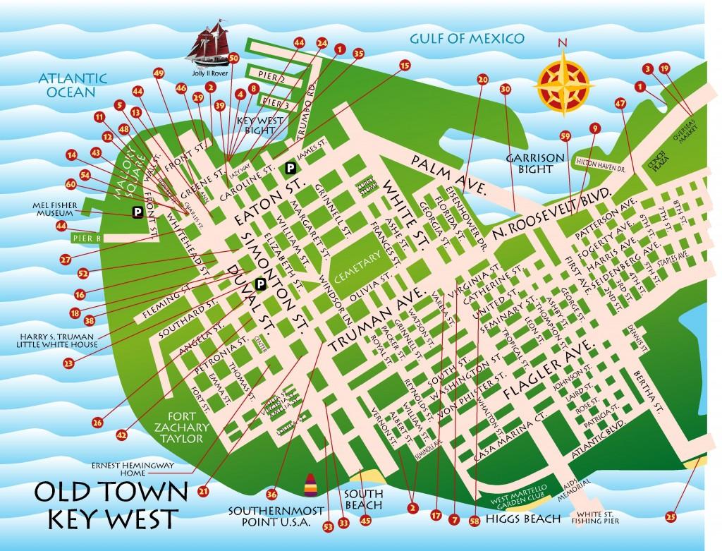 Maps Key West  Florida Keys  Key West  Florida Keys