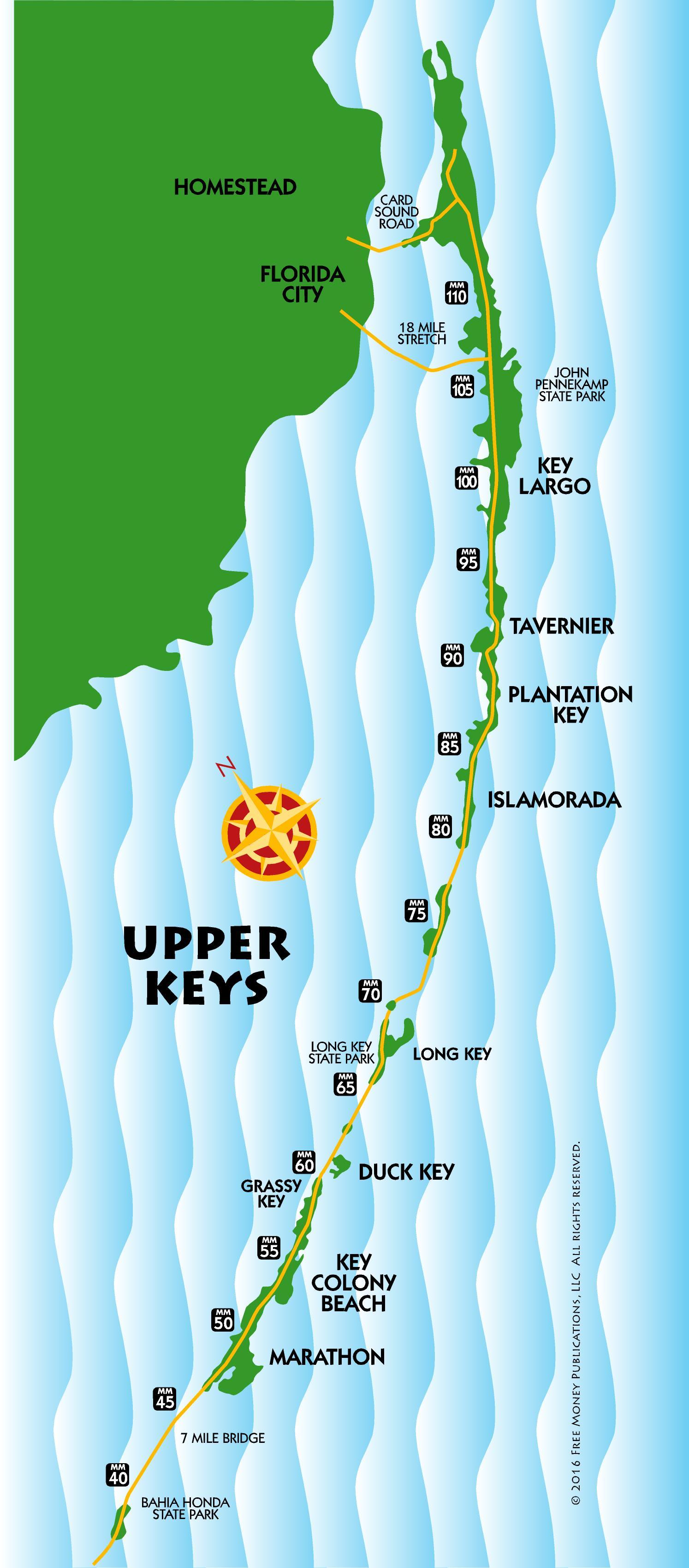 LC Rd Grade Thinkers Maps US And Canada Printable Blank Maps Key - Florida keys map pdf