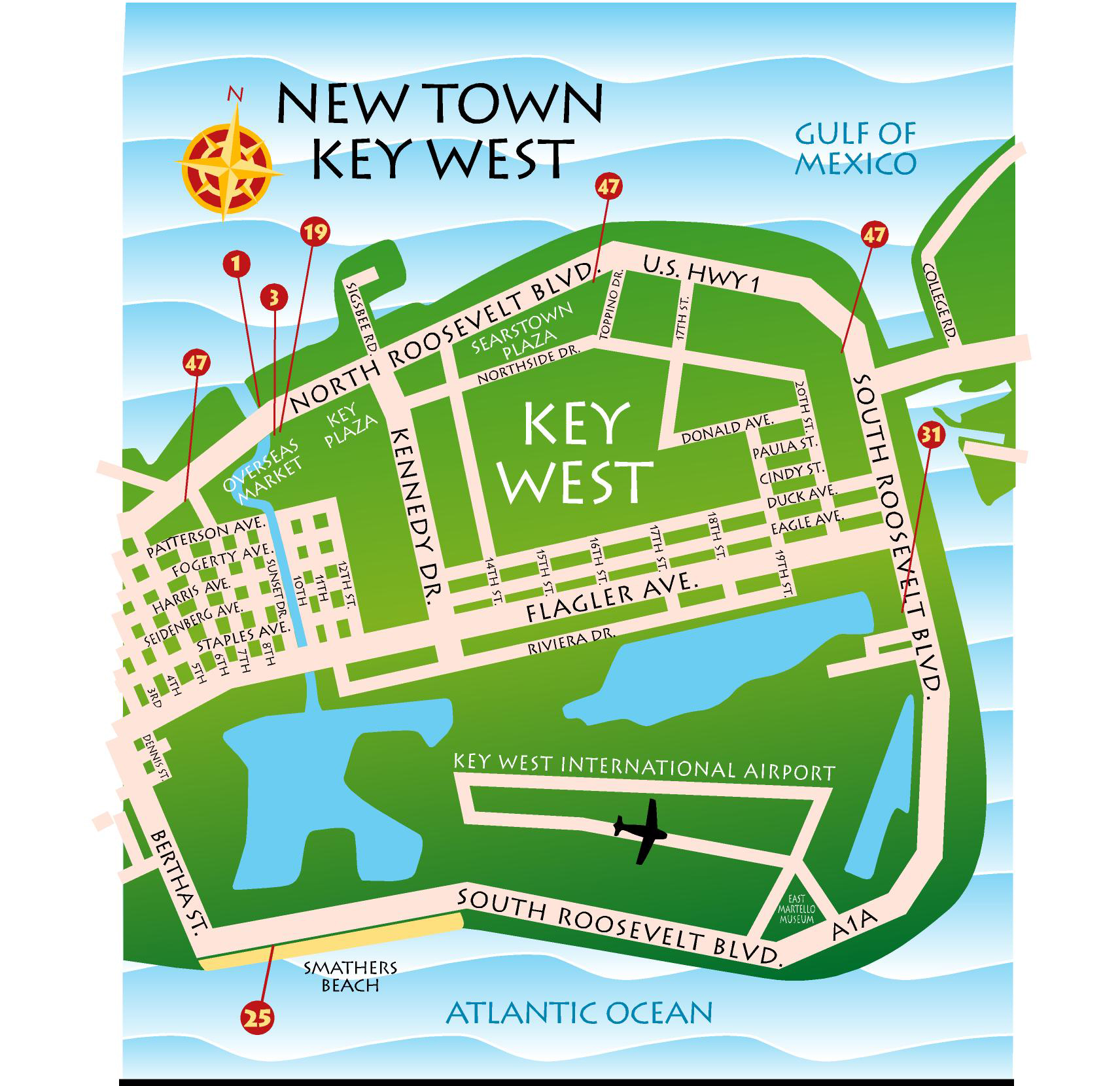 Maps Key West Florida Keys Key West Florida Keys