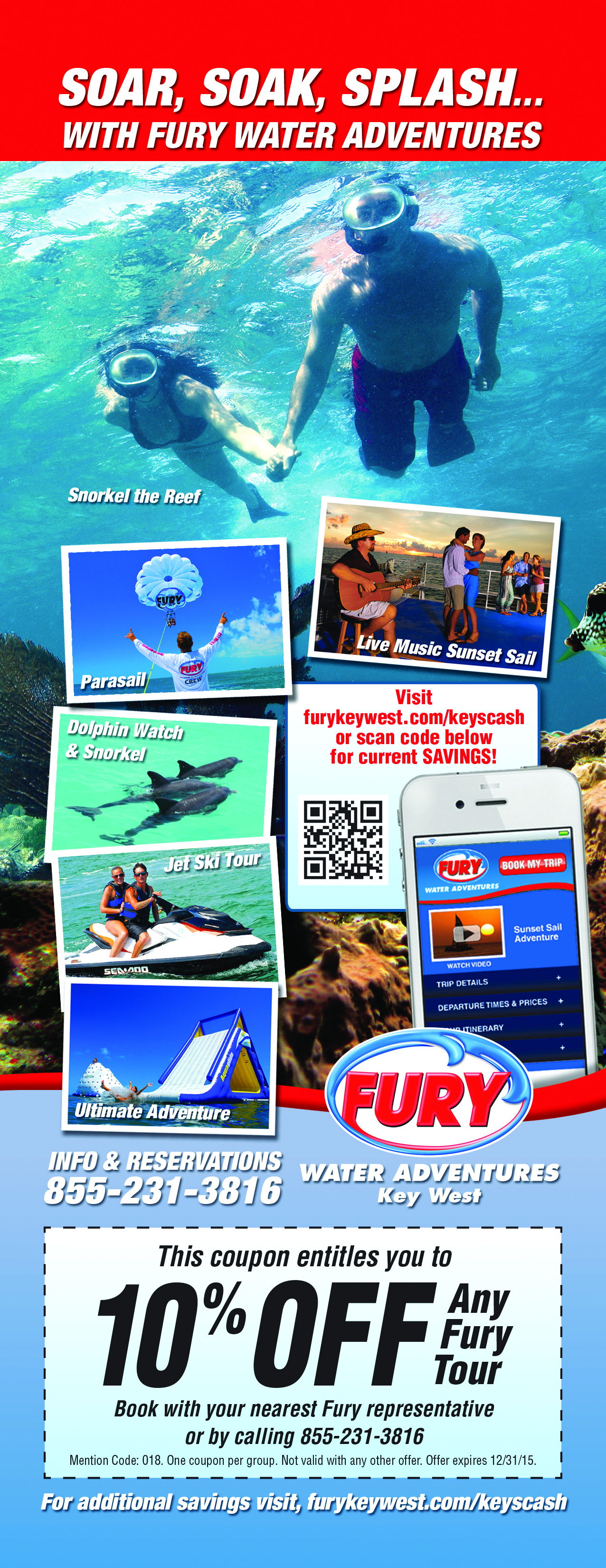 Parasailing Key West Florida Keys Discount Coupons