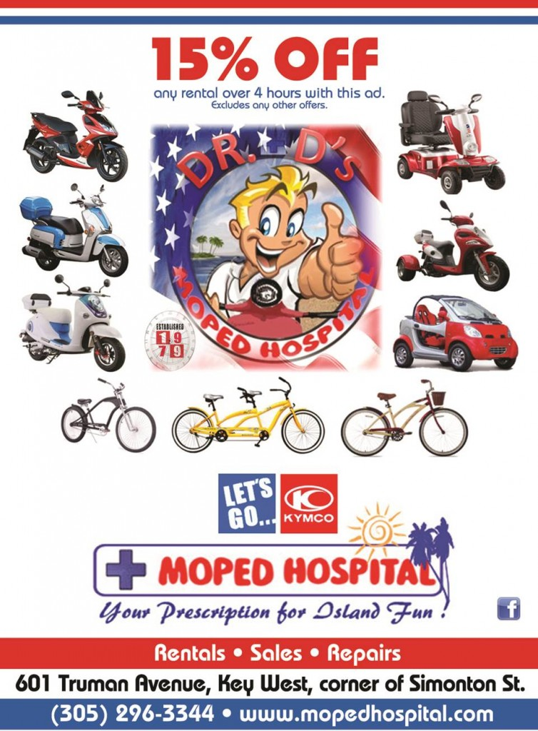 Moped Hospital, Key West