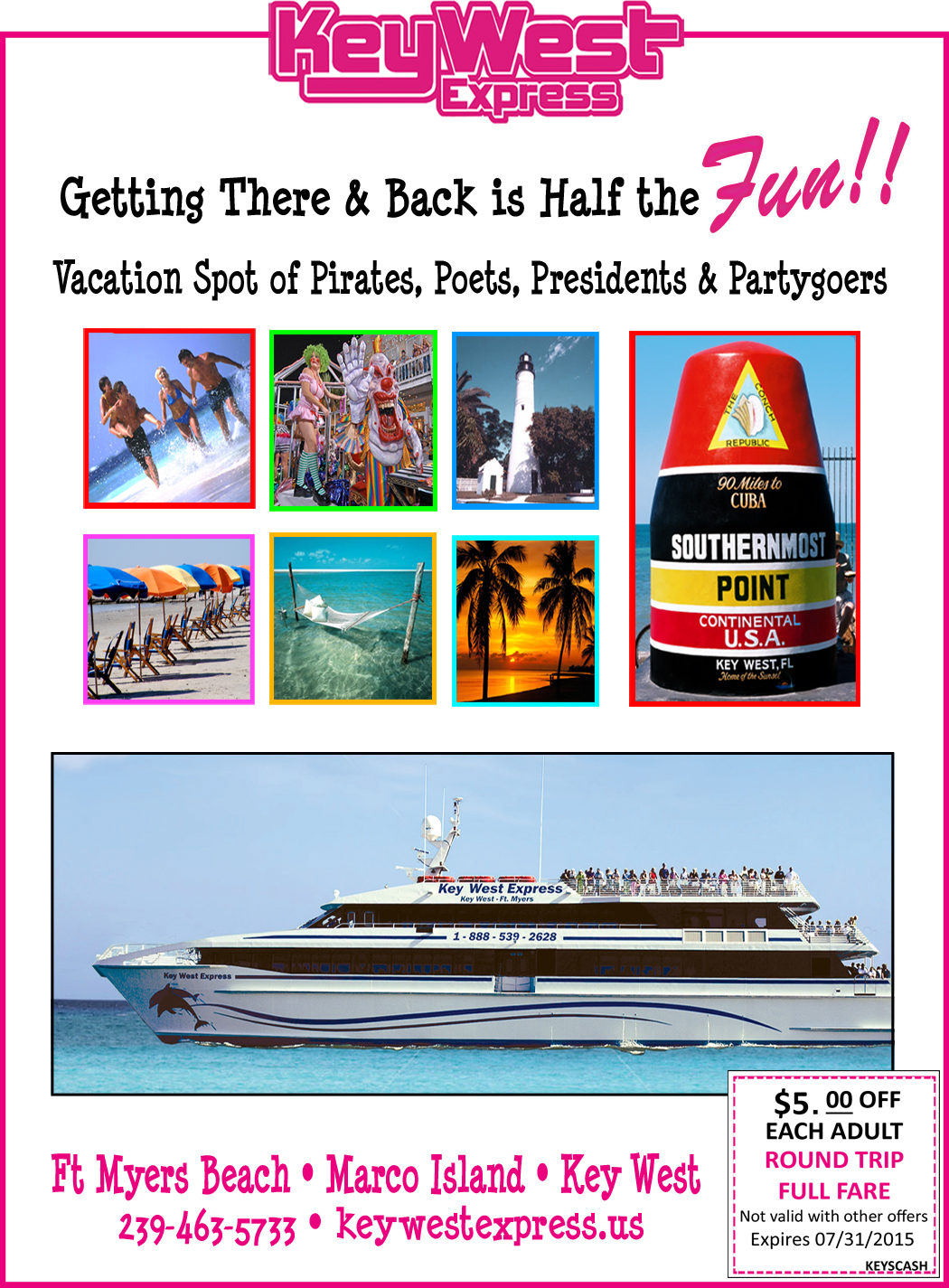 Key west express discount coupons