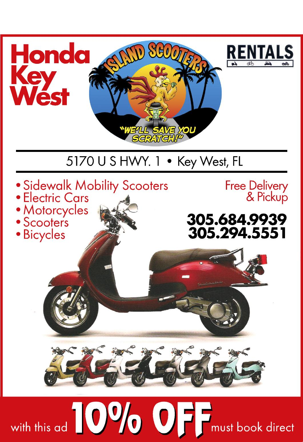 Island Scooter / Honda Key West
