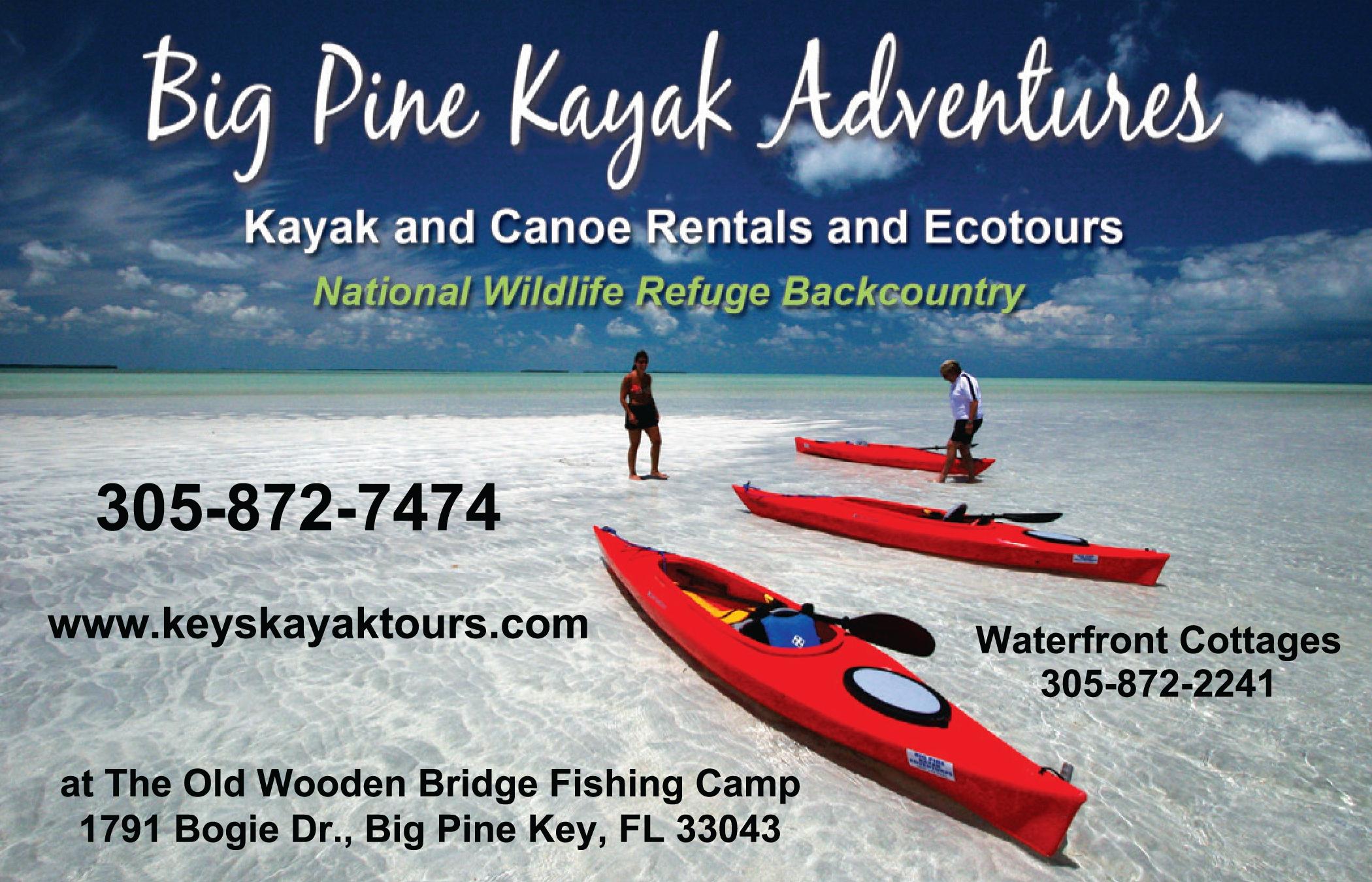 Big Pine Kayak Adventures