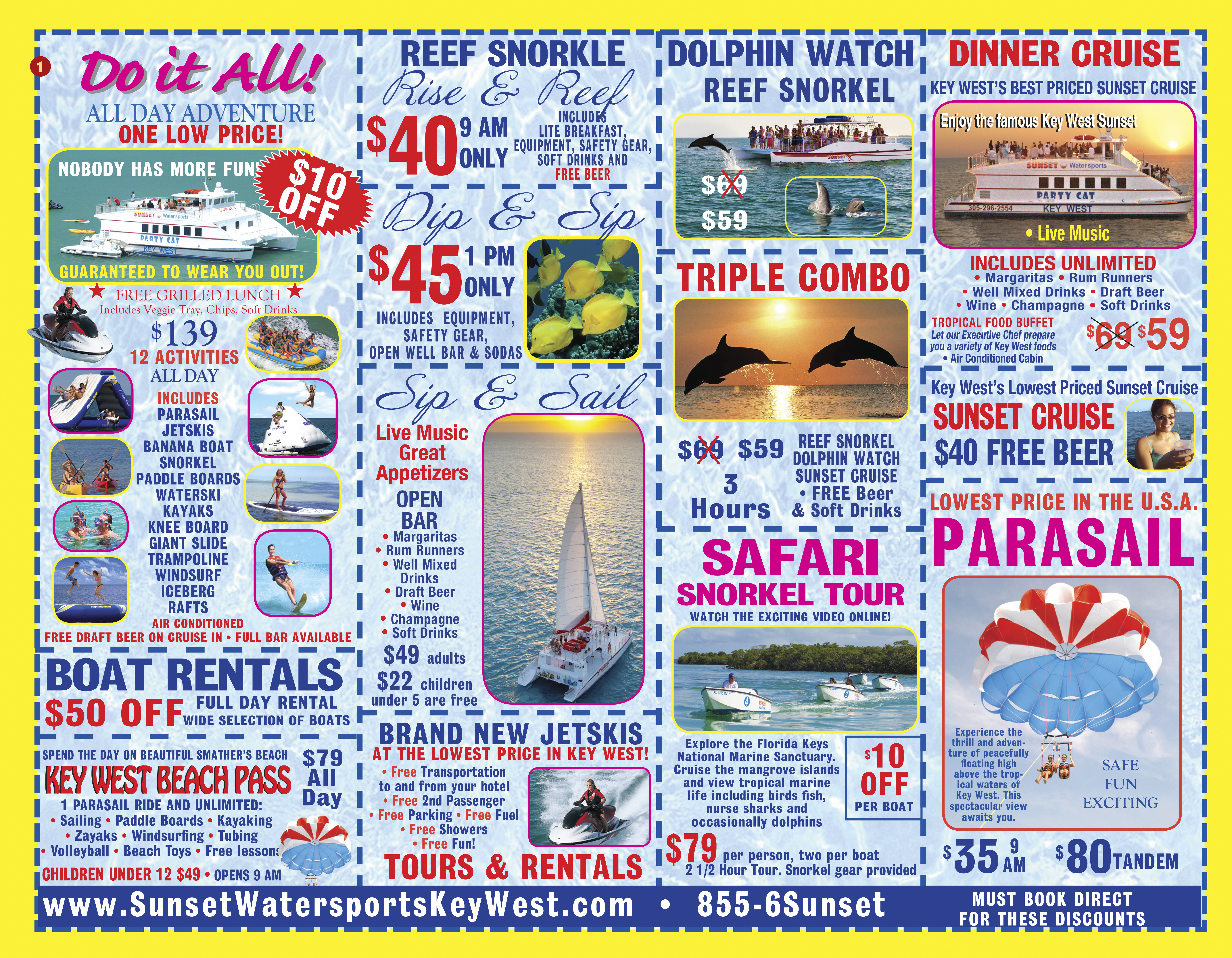 Key west discount coupons