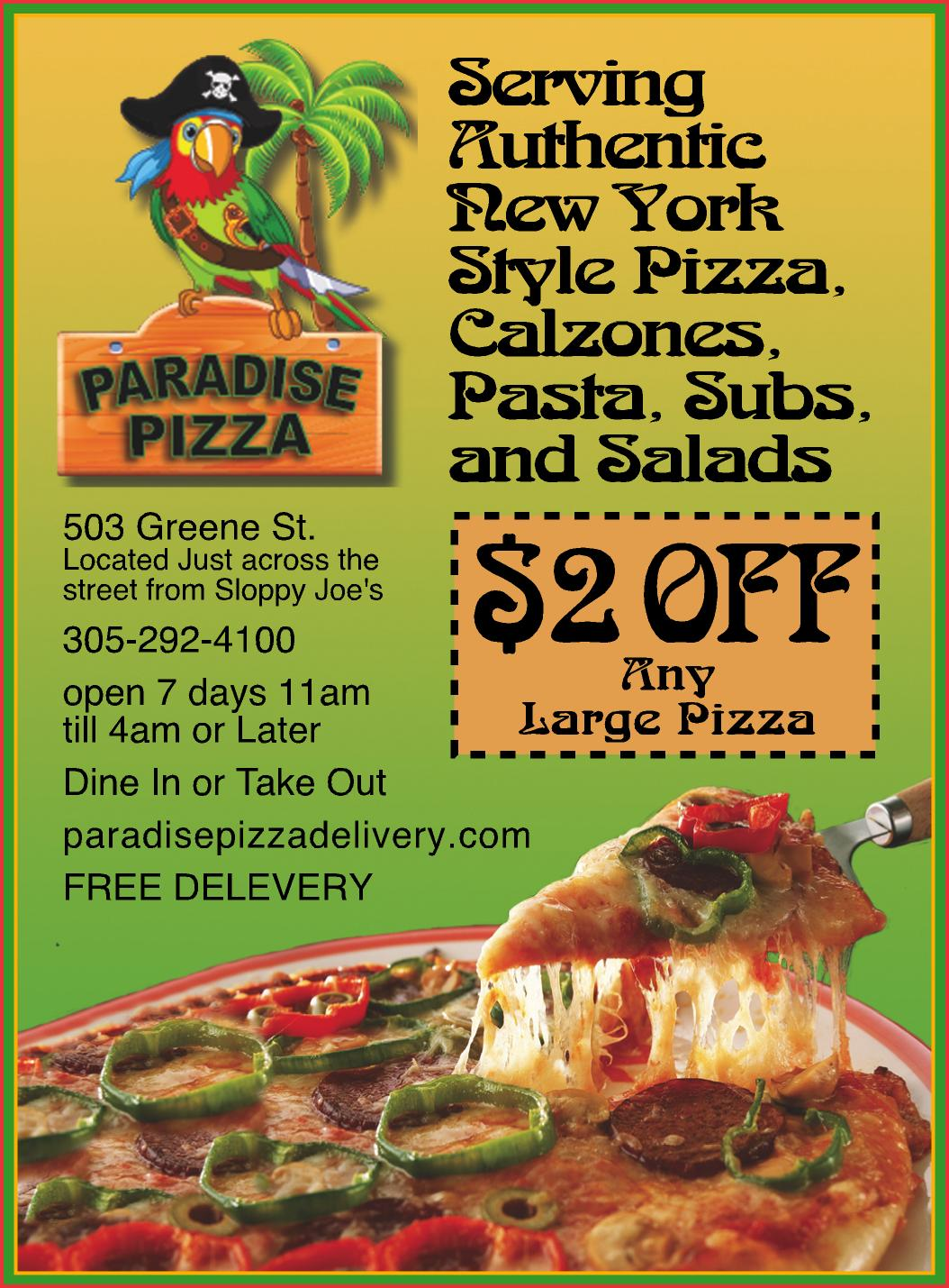 Paradise Pizza, Key West