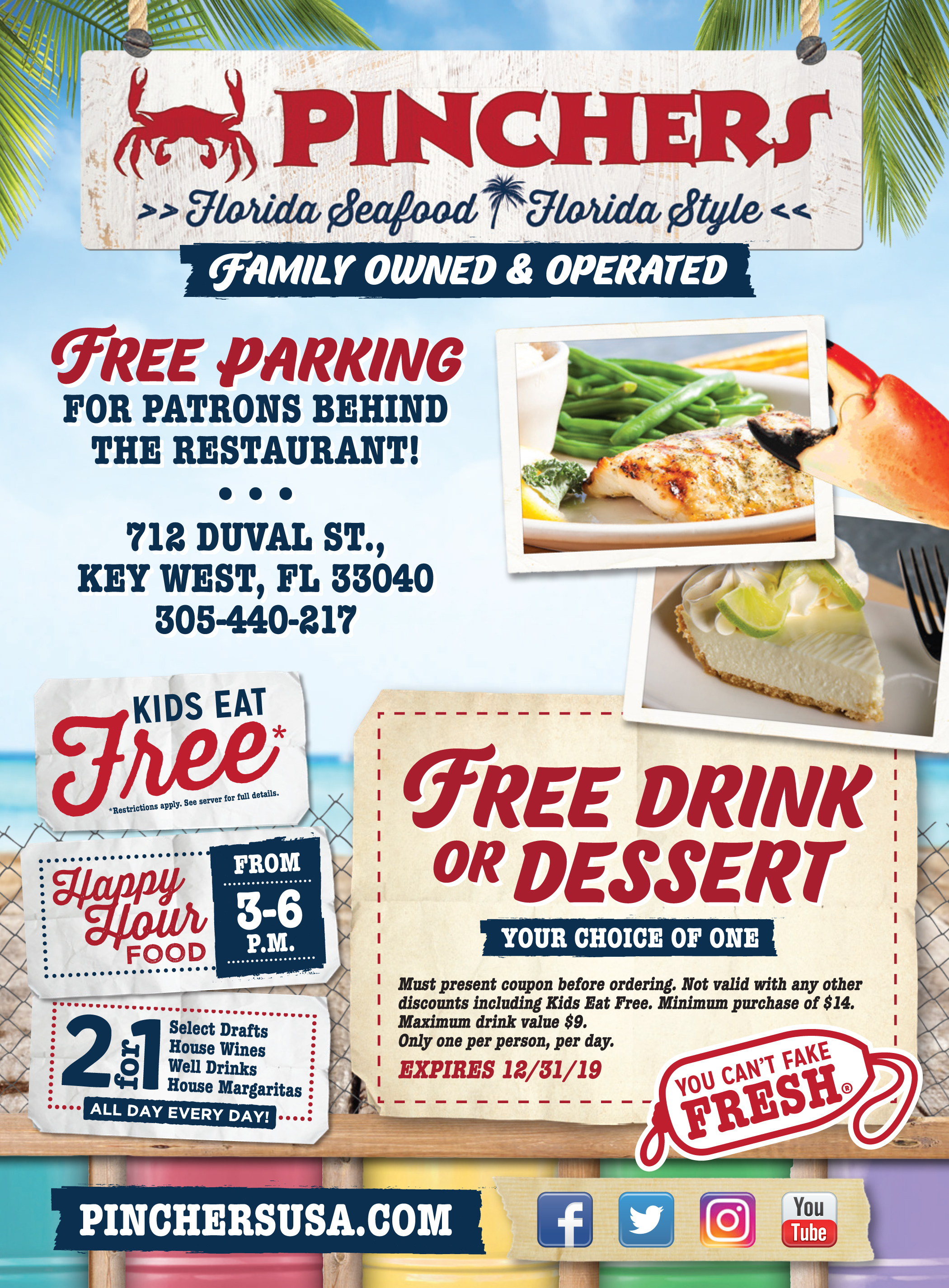 Key West Restaurant Discount Coupon Key West Florida
