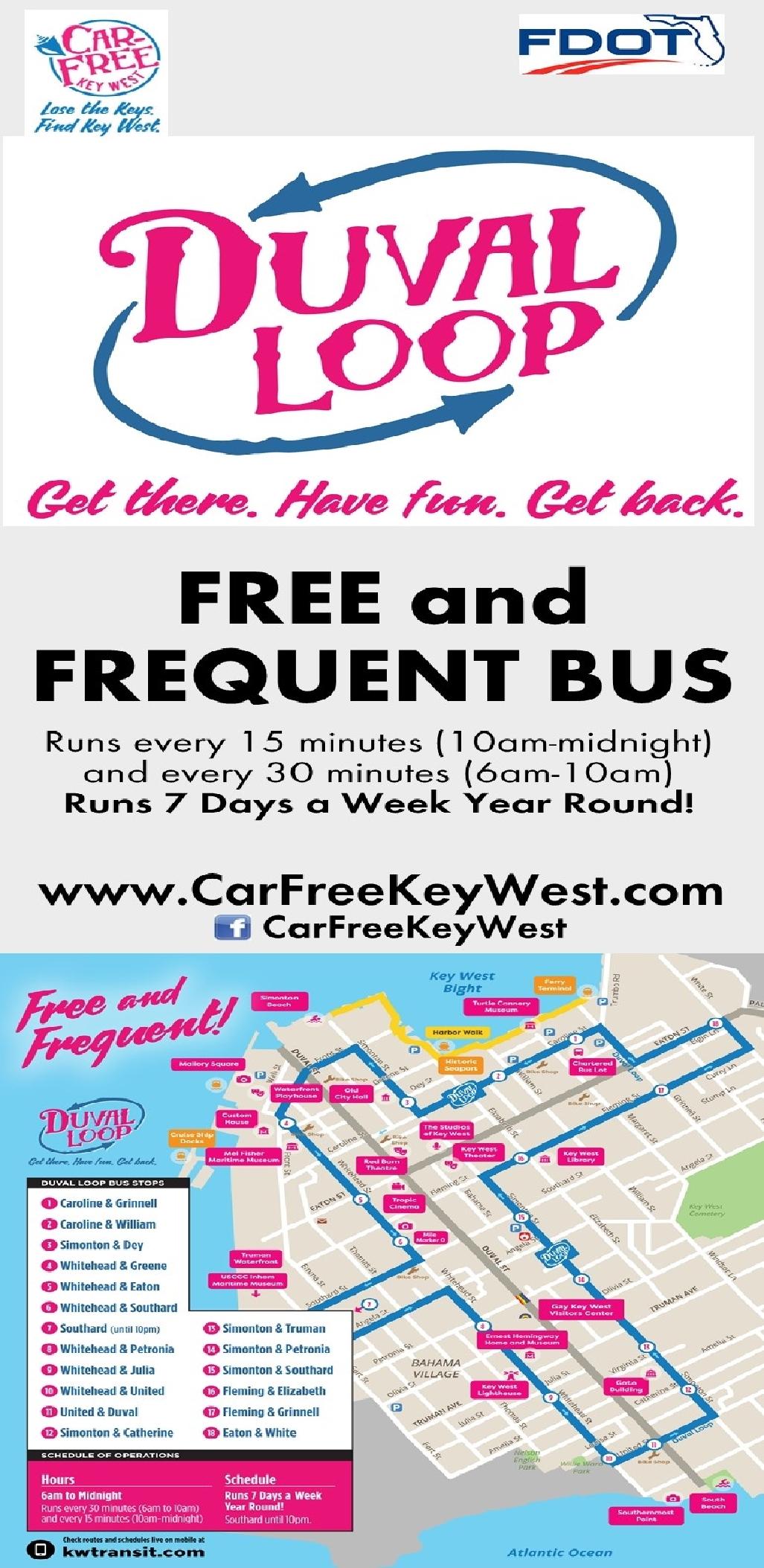 Duval Loop Free & Frequent Bus, Key West | Key West / Florida Keys on nashville bus map, portland bus map, mobile bus map, key west trolley schedule, key west maps to print, key west points of interest, dayton bus map, baltimore bus map, philadelphia bus route map, key west transit, santa ana bus map, houston bus map, gainesville bus map, sitka bus map, st. louis bus map, key west trolley route, san francisco bus map, key west villas disney world, golden gate bus map,