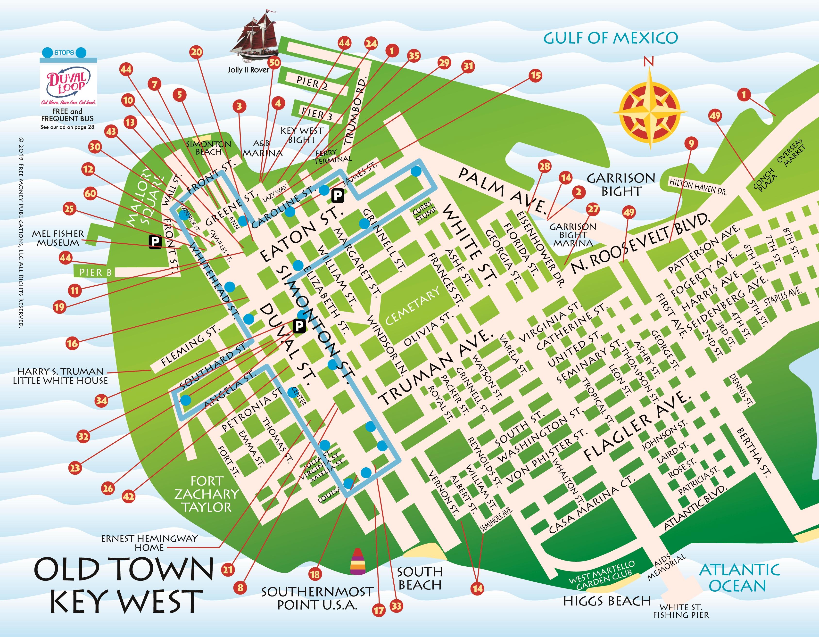 Printable Map Of Florida Keys.Maps Key West Florida Keys Key West Florida Keys